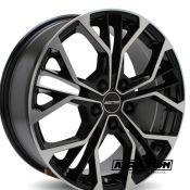 7.5x18 5x108 ET45 CTR73.1 Alu GMP Matisse Black polished 101096549
