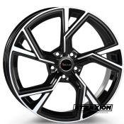 8.5x19 5x112 ET30 CTR66.6 Alu Avus Af20 Black polished (DED:Audi ) A20085195112030666D0
