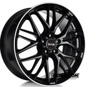 8x18 5x112 ET30 CTR66.6 Alu Avus AF19 Black Polished Lip A1908018511203066630