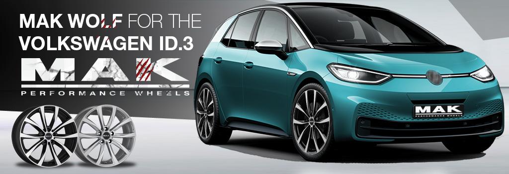 MAK wheels for the Volkswagen ID.3
