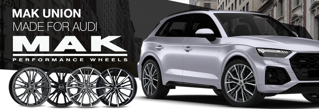 MAK wheels for Audi