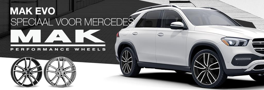 MAK velgen voor Mercedes