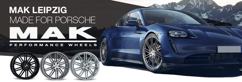 MAK wheels for Porsche