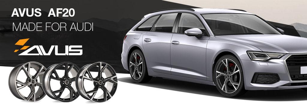 Avus wheels for Audi