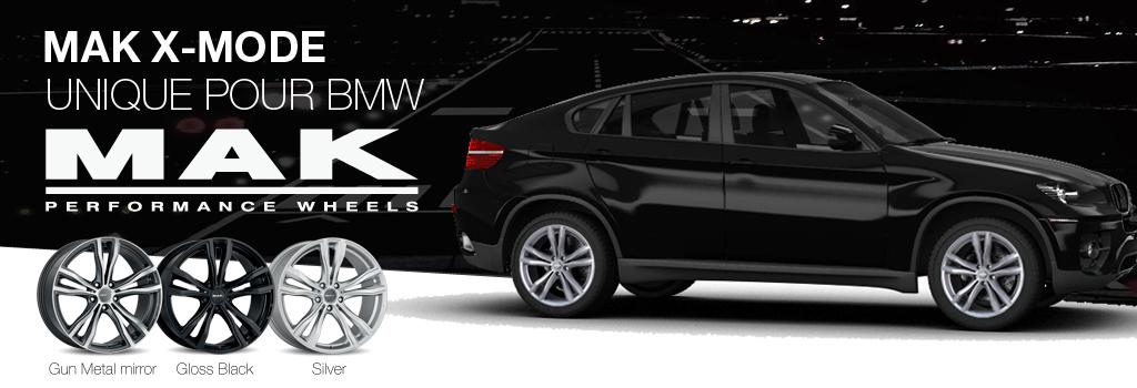 MAK X-Mode: Unique pour BMW jante