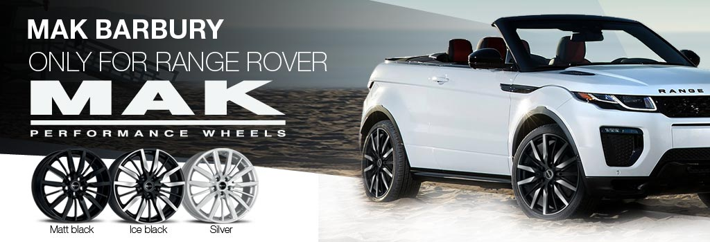 MAK Barbury: Specially for Land Rover Range Rover