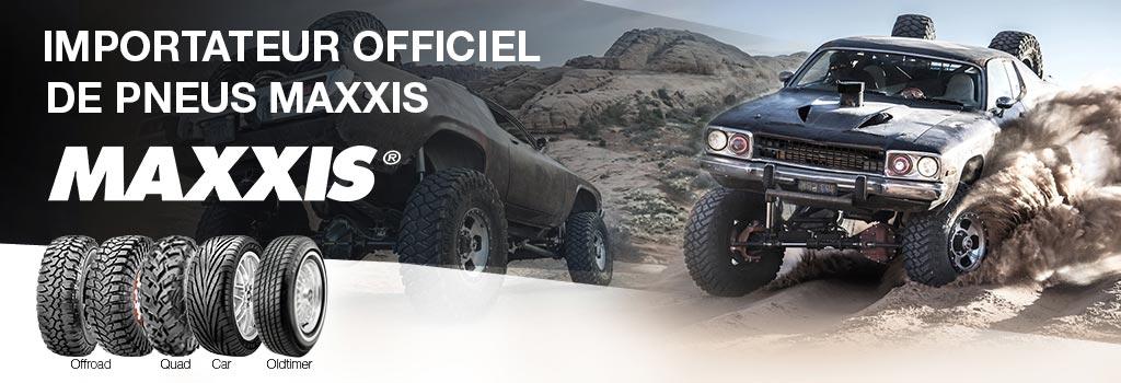 Atraxion importateur  officiel de pneus Maxxis