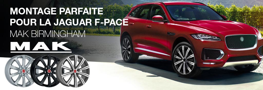MAK Birmingham gemaakt voor de Jaguar F-Pace